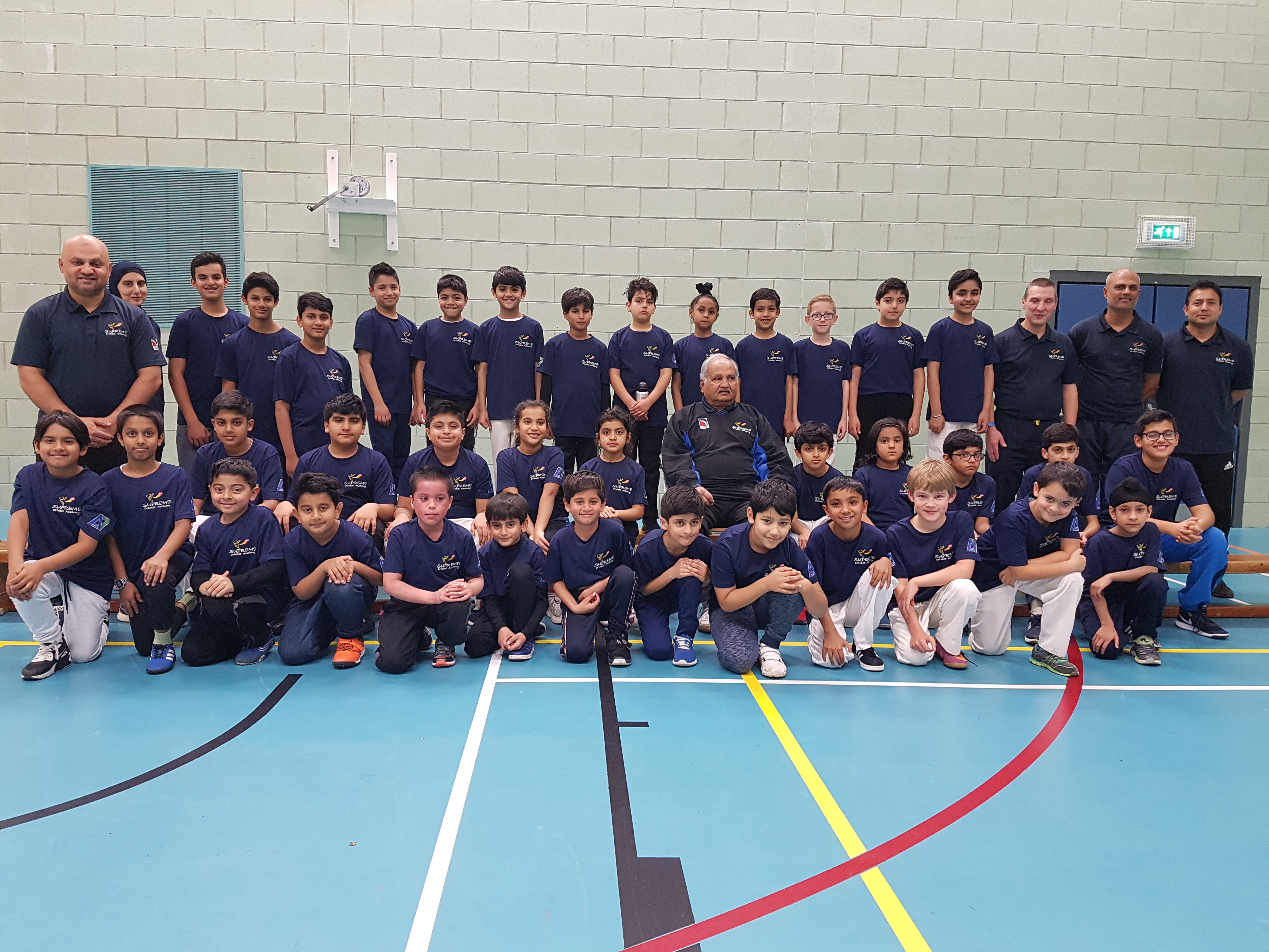 Hard ball & Soft ball group with Mushtaq Mohammed and coaches
