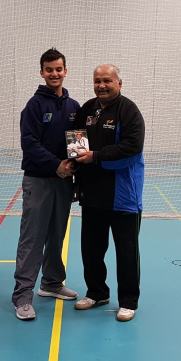 Ibraheem Mohammed selected for Solihull u15 District with Mushtaq Mohammed