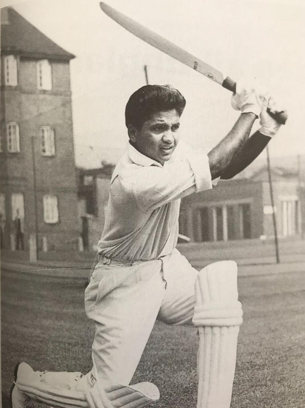 Mushtaq Mohammed at Lord's 1962