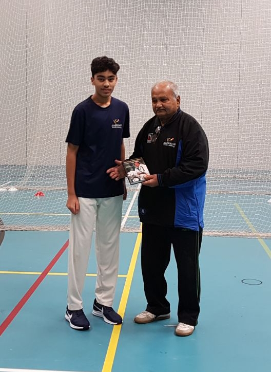 Rohan Padan selected for Solihull u15 District with Mushtaq Mohammed