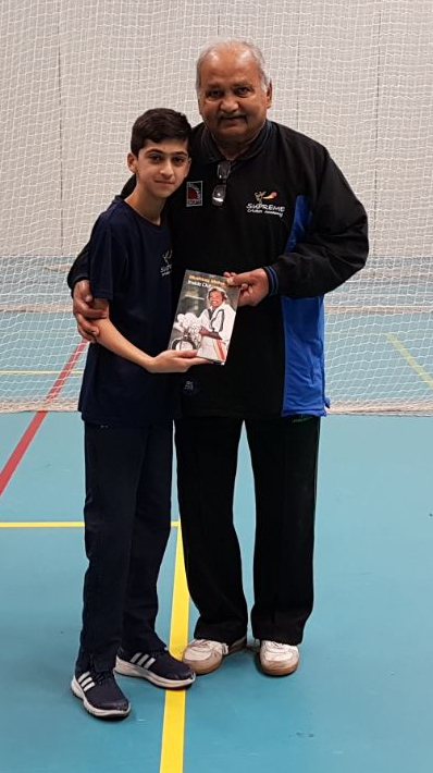 Ryaan Mohammed selected for Warwickshire u13 with Mushtaq Mohammed