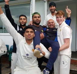 Sohail Mohammed coached Moseley 1st Team to promotion into Birmingham Premier league 2017.