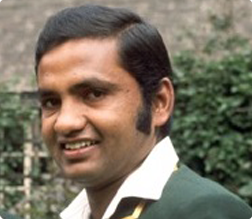 One of Pakistan's famous five, Mushtaq Mohammed.